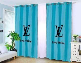Branded Curtain with Ring/sold per 2pc