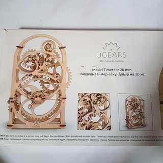 UGEARS Model Timer for 20 min