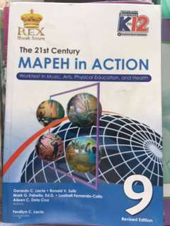 MAPEH in ACTION (rex book store) grade 9