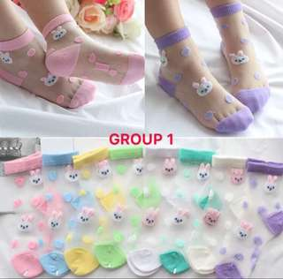 Ready stock (New)Kids/baby socks