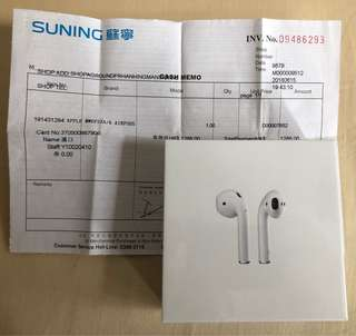 全新 Apple Airpods