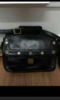 Vintage MCM bag斜揹袋