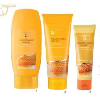 Nutrimetics Nourishing Hair care Set (3) ( Tupperware )