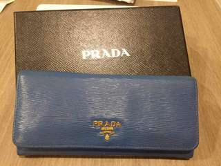 Authentic Prada Wallet (with 100% new ID case)