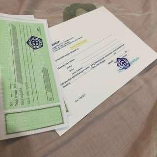 Surat dokter RS Husada mangga besar