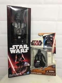 Darth Vader Star Wars Action Figure Set of 2