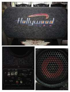 Subwoofer bass tube Hollywood 12volt