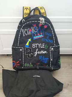 Dolce and Gabbana backpack d&g 背囊