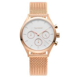 Rome-Rose gold watch