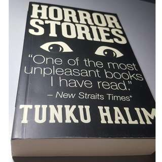 BOOK - HORROR STORIES by TUNKU HALIM