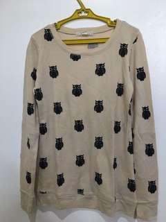 Forever21 Owl Sweater