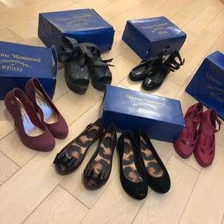 ⭐️Vivienne Westwood Melissa 雨季必備防水鞋 女神鞋