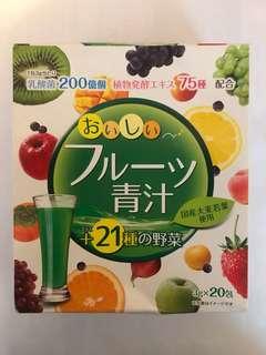 健康飲品 青汗 大麥若葉 購自日本 17包