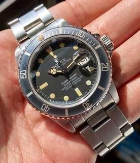 Rolex 16800 Matte Submariner
