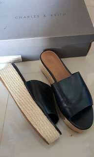 Charles & Keith Sandal Wedges