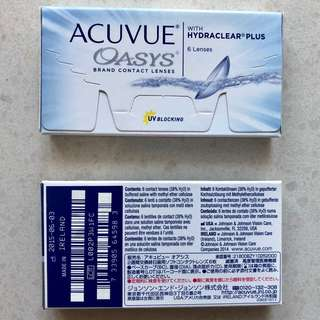 Acuvue Oasys 750, 6 in a box