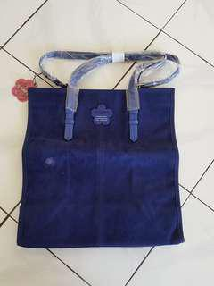 Spyderbilt Blue Velvet Bag