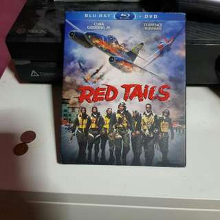 Brand New Red Tails Blu Ray