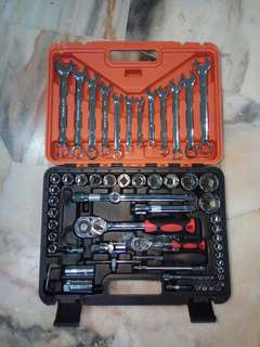 Full set of tools for diy