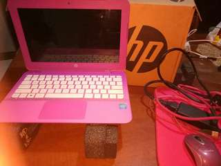 "HP STREAM PINK 11"""