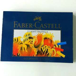 Faber Castell soft pastels, 72 colours