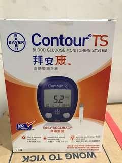 Contour TS Blood Glucose Monitor System 全新拜安康血糖機