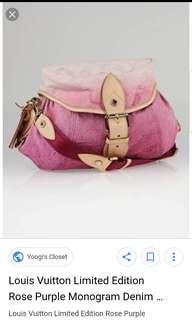 Authentic Louis Vuitton Sunshine Bag-limited edition