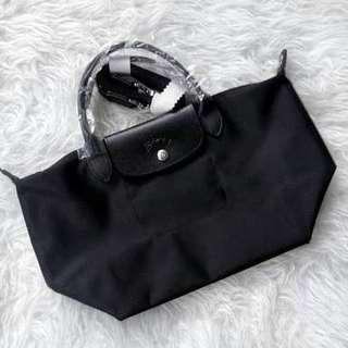 Black Longchamp Neo Medium