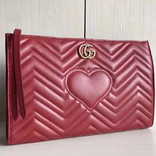 BEST SELLING Gucci GG Marmont Hands Carry Clutch