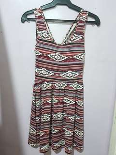 Forever 21 aztec-printed dress