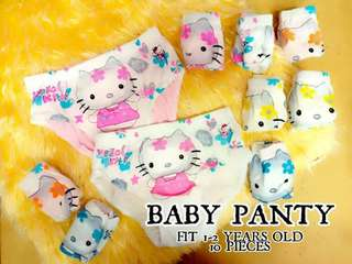 Hello Kitty Baby Panty (10pcs)