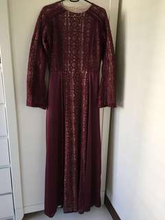 Zalia Fit & Flare Dress