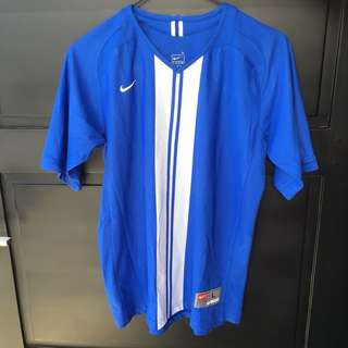 Blue Sporty Top Nike