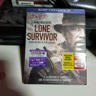 Lone Survivor Blu Ray