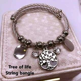 Pandora Inspired Bangle