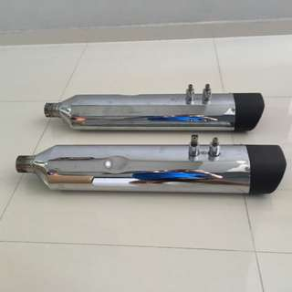 Remus Harley-Davidson touring model pipes (LTA-approved) for sale