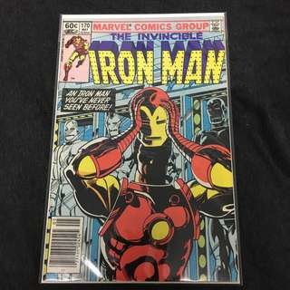 Iron Man 170 Marvel Comics Book Stan Lee Movie Avengers Ironman