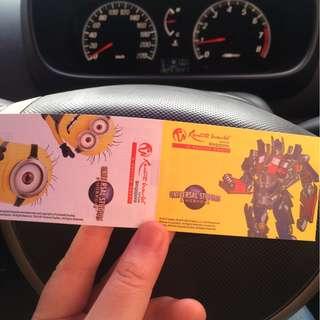 USS Tickets