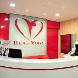 Real Yoga Membership - 1 year