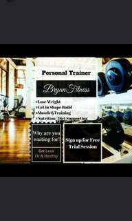 Personal training package + free gym entry