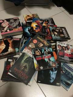 Assorted VCDs (includes movies, animes etc)