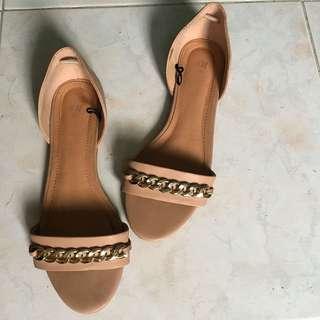 H&M nude sandals