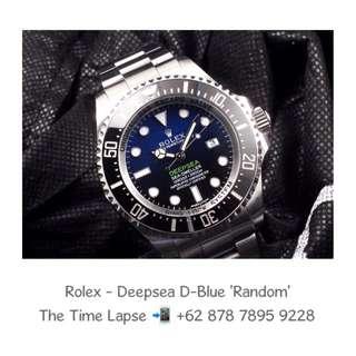 Rolex - Deepsea D-Blue 'Random'