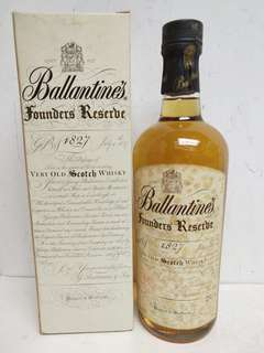 Ballantines Founder Reserve 1827 Scotch Whisky 百靈壇舊威白紙 750ml