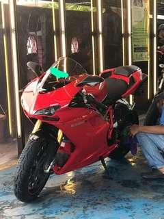 Ducati 1098S.