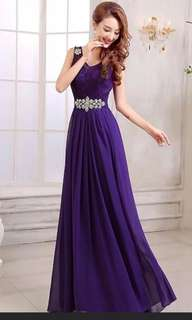Evening gown for rent