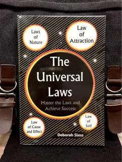 《New Book Condition + The Key to Using Universal Laws to Transform Your Life》Deborah Sless - THE UNIVERSAL LAWS : Master The Laws And Achieve Success