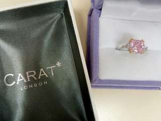 Carat London 9K Pink diamond