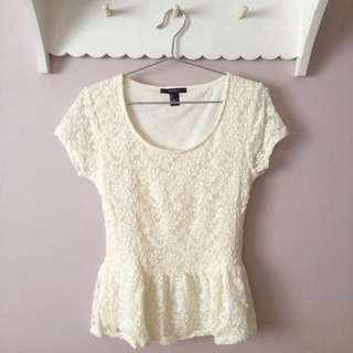 Forever21 lace top