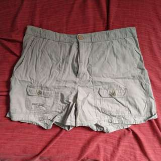 Plus Size Khaki Ralph Lauren Shorts